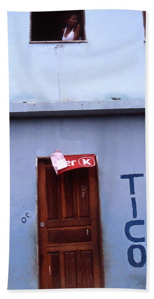 Lencois Hand Towel featuring the photograph Bar Tico by Patrick Klauss