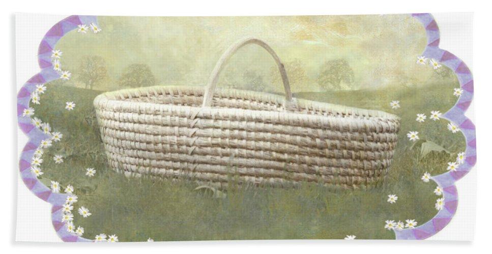 Bath Towel featuring the photograph Basket by Adele Aron Greenspun