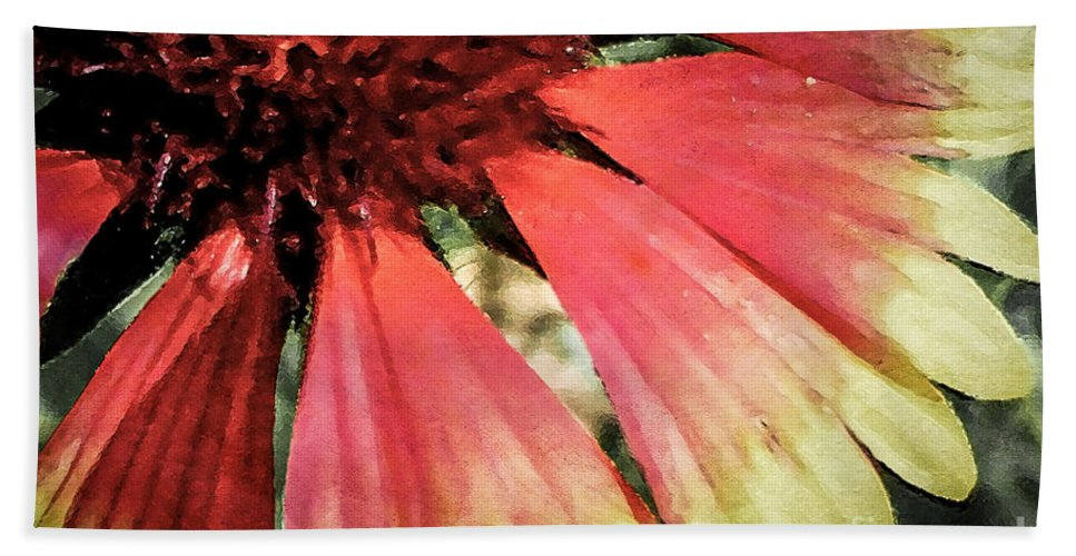 Flora Bath Towel featuring the photograph Basking In The Sun by Todd A Blanchard
