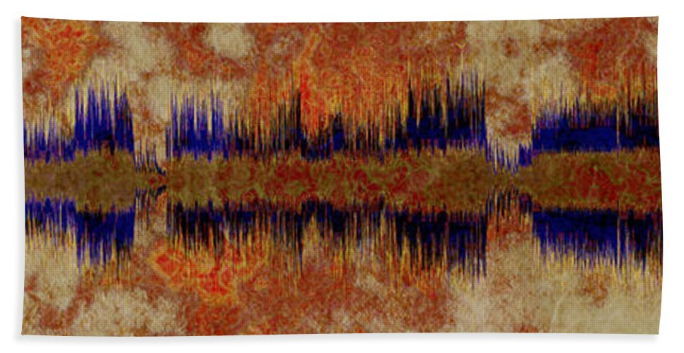 Bat Out Of Hell Hand Towel featuring the digital art 10299 Bat Out Of Hell By Meat Loaf With Titles by Colin Hunt