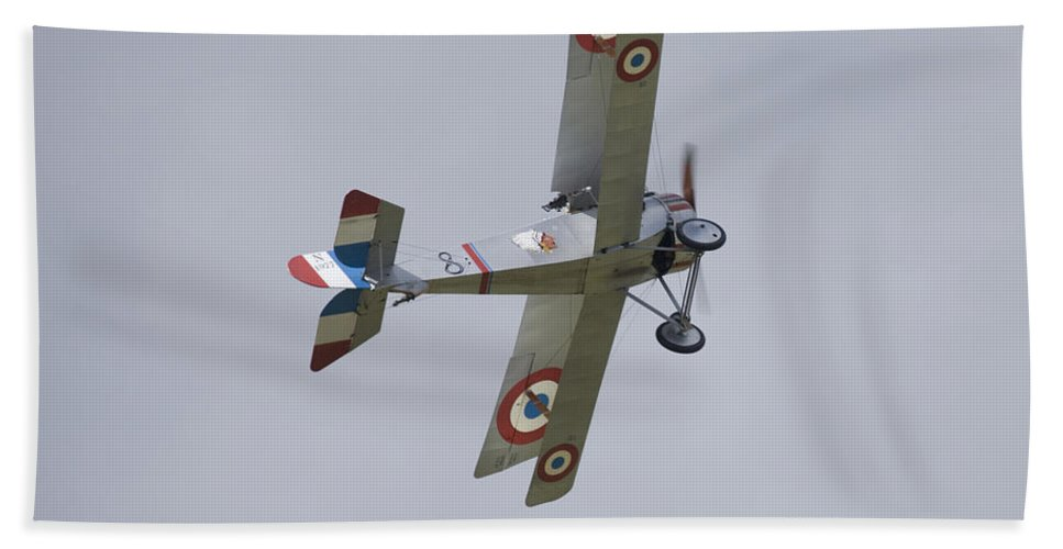 Plane Hand Towel featuring the photograph Battle Of Britain Memorial Flight by Ian Middleton
