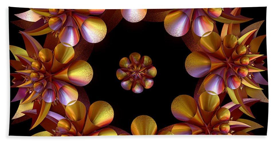 Digital Bath Sheet featuring the digital art Be Fruitful by Sara Raber