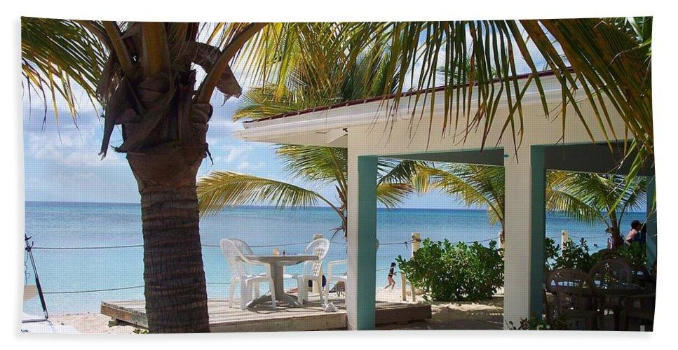 Beach Bath Sheet featuring the photograph Beach In Grand Turk by Debbi Granruth