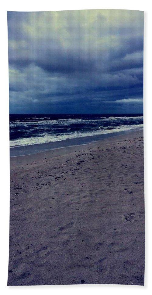 Bath Towel featuring the photograph Beach by Kristina Lebron