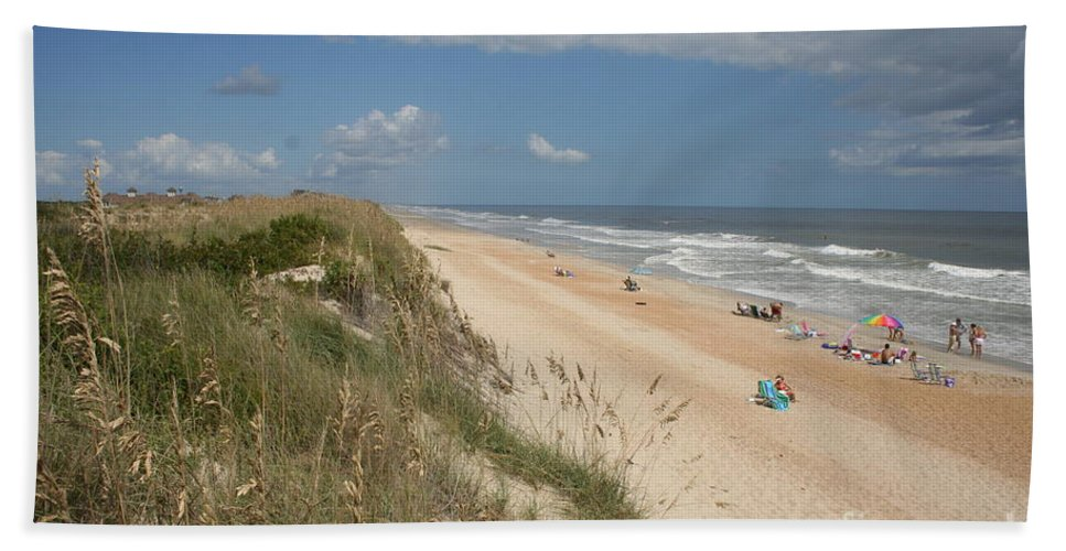 Dunes Hand Towel featuring the photograph Beach Life by Christiane Schulze Art And Photography