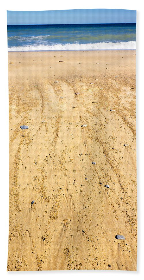Cape Cod Hand Towel featuring the photograph Beachin Day by Greg Fortier
