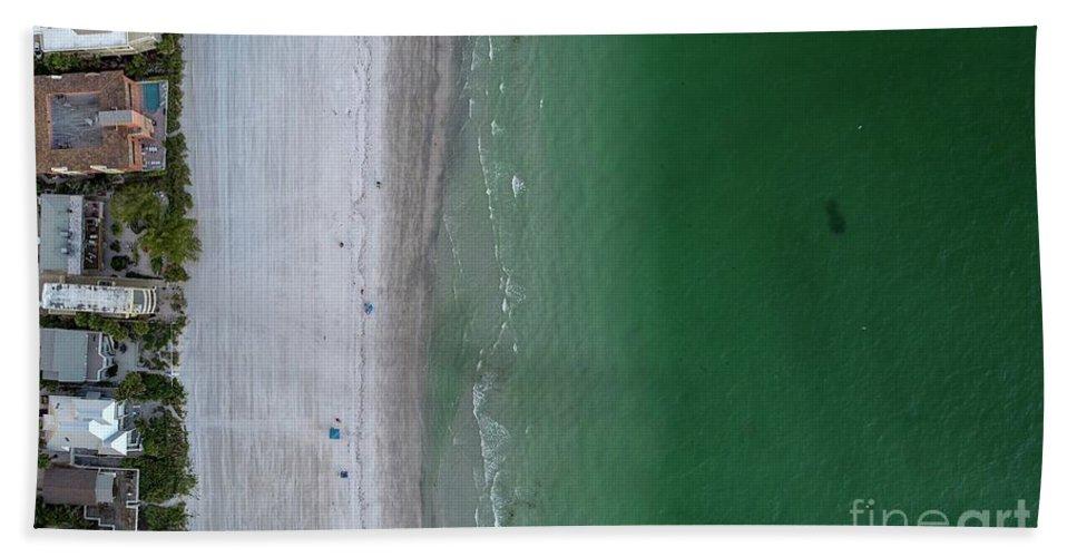 Beach Hand Towel featuring the photograph Beachin by Patrick Donovan