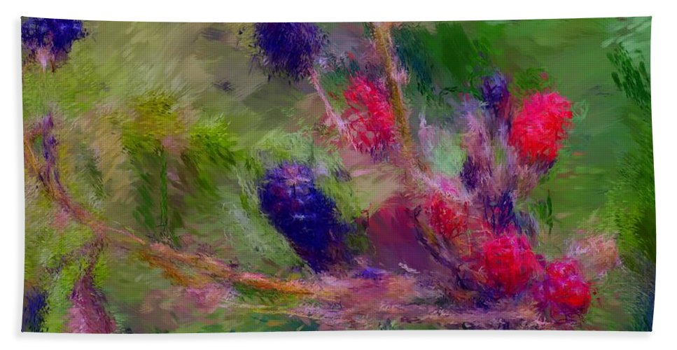 Nature Hand Towel featuring the photograph Bear Fodder by David Lane