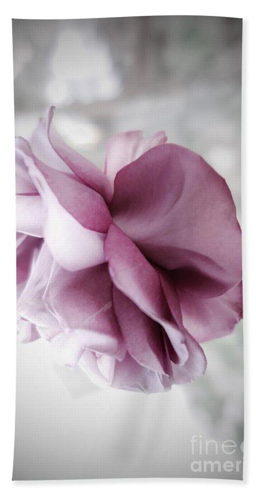 Floral Bath Towel featuring the photograph Beautiful Lavender Rose by Tara Shalton