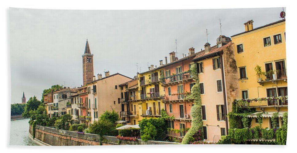 Italy Hand Towel featuring the photograph Beautiful Verona by Lisa Lemmons-Powers