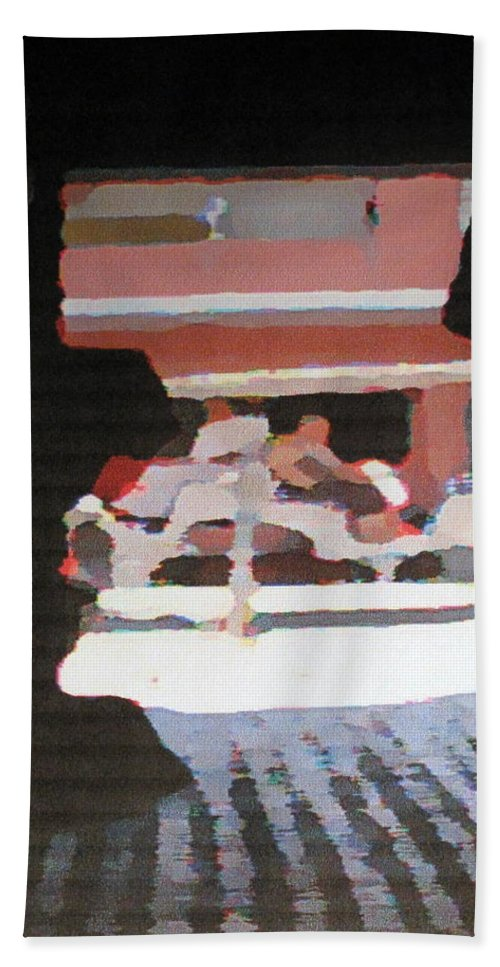 Bermuda Bath Towel featuring the photograph Bermuda Carriage Impressions by Ian MacDonald