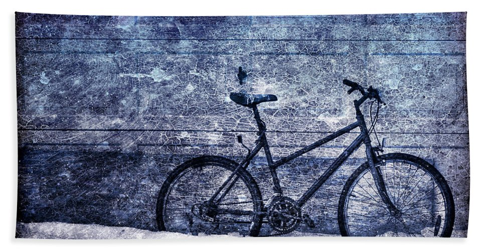 Bicycle Hand Towel featuring the photograph Bicycle by Evelina Kremsdorf