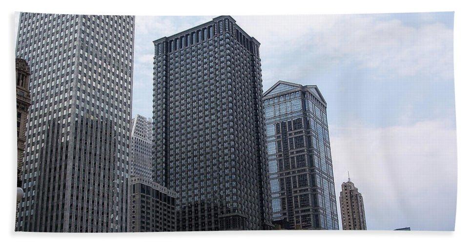 Chicago Bath Sheet featuring the photograph Big N Tall by Donna Blackhall