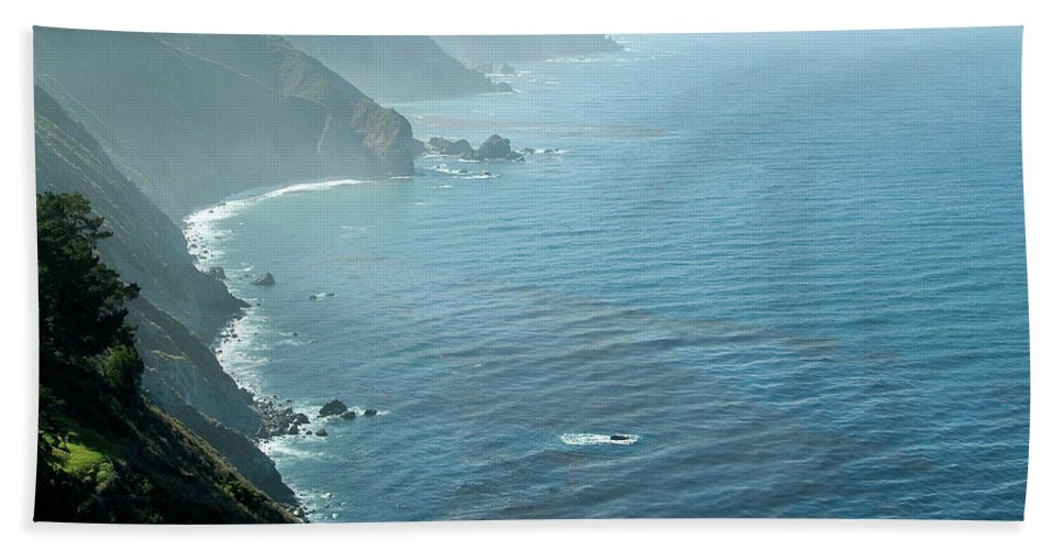 Big Sur Bath Towel featuring the photograph Big Sur Majesty by Charlene Mitchell