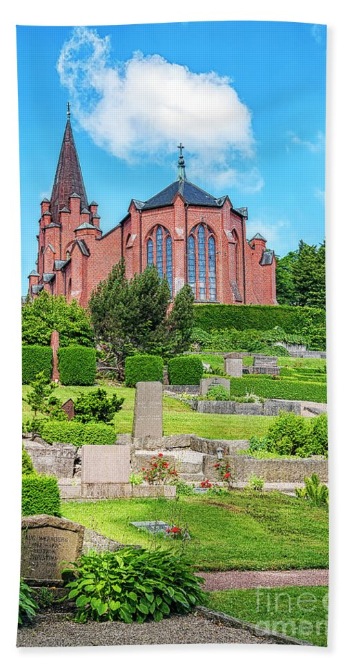 Billinge Bath Sheet featuring the photograph Billinge Church by Antony McAulay