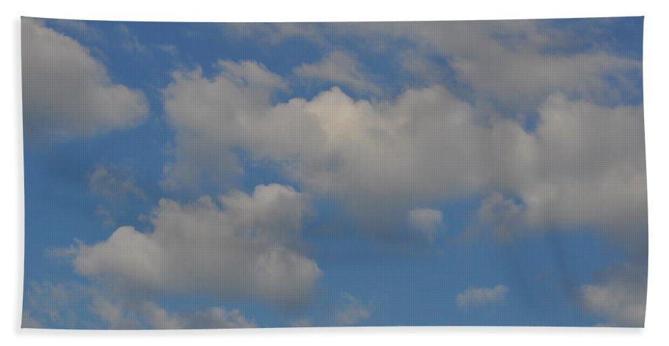Cloud Bath Sheet featuring the photograph Billow by JAMART Photography