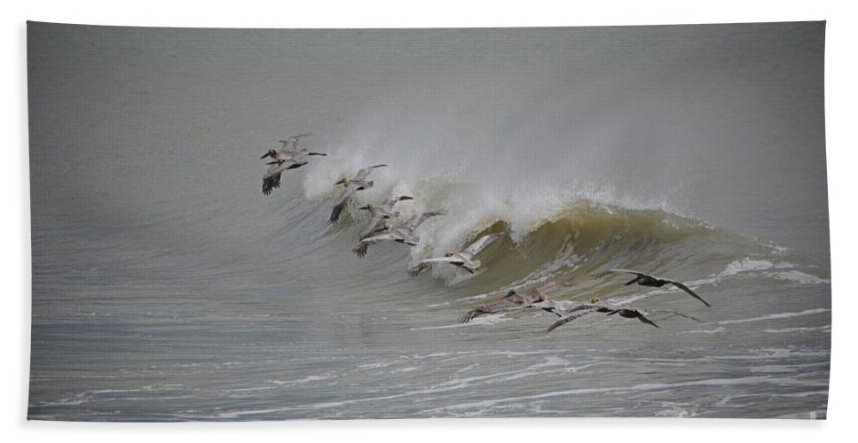 Birds Bath Sheet featuring the photograph Outer Banks Obx by Buddy Morrison