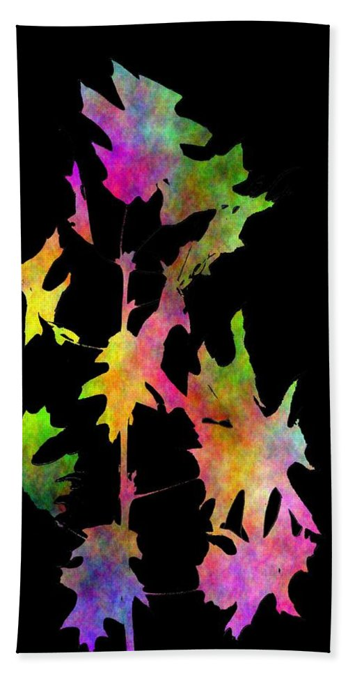 Fall Hand Towel featuring the digital art Blowin In The Wind 4 by Tim Allen