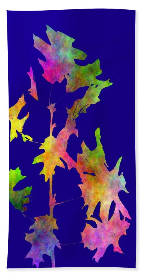 Fall Hand Towel featuring the digital art Blowin In The Wind 8 by Tim Allen