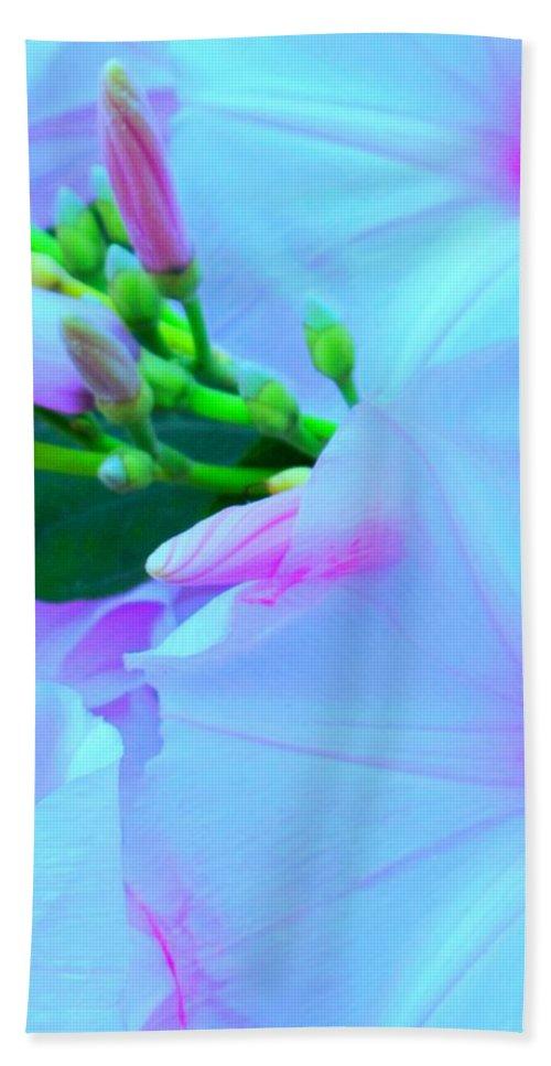 Blue Hand Towel featuring the photograph Blue Beauty by Ian MacDonald
