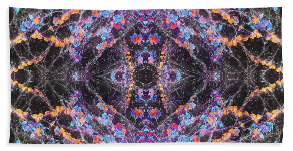 Marc Nader Photo Art; Marc Nader Fine Art Photography Hand Towel featuring the photograph Blue Me, Ivy Says by Marc Nader