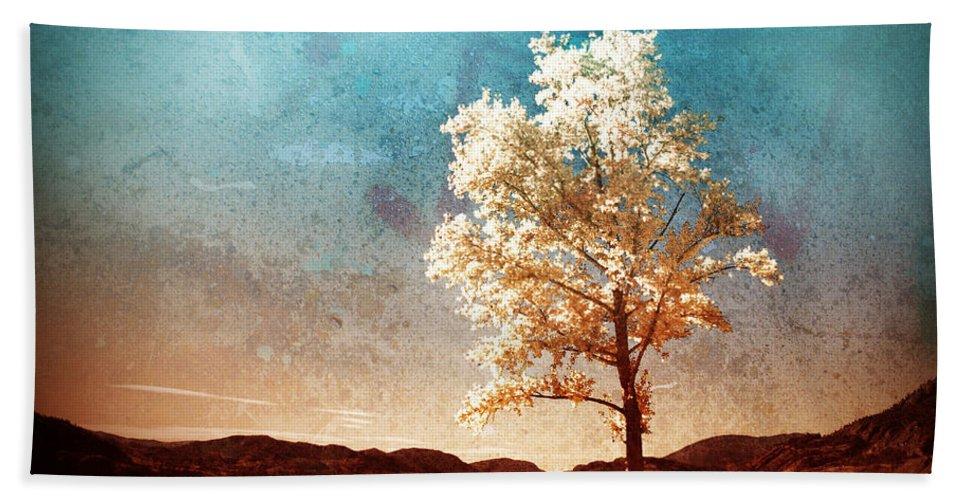 Beach Hand Towel featuring the photograph Blue Sky Dreams by Tara Turner