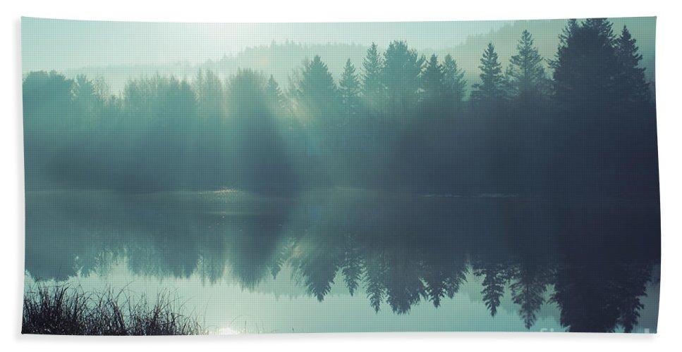 Blue Bath Sheet featuring the photograph Blue Splendor by Aimelle
