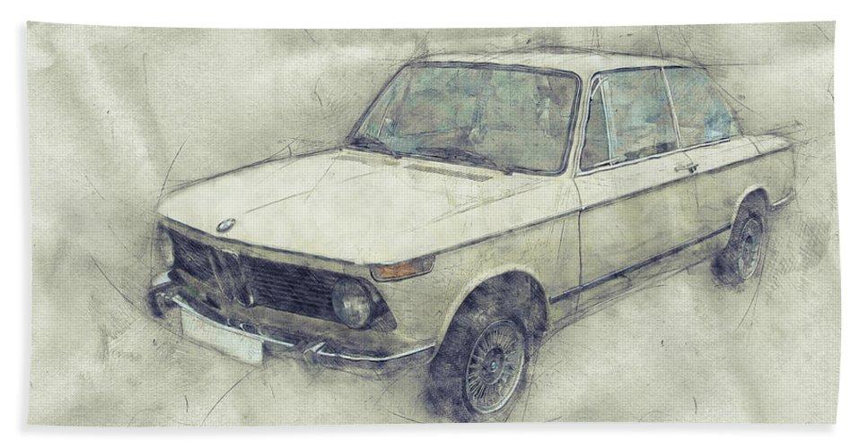 Bmw 02 Series 1 - Ececutive Car - 1966 - Automotive Art - Car ...