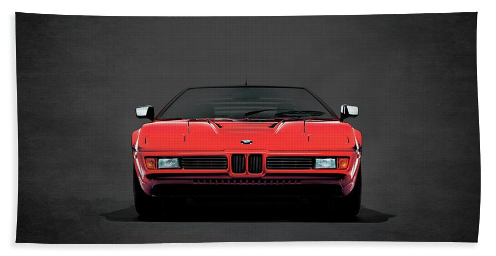 Bmw M1 Hand Towel featuring the photograph Bmw M1 1979 by Mark Rogan