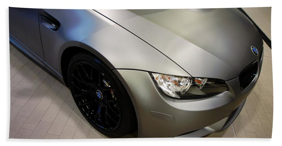 Bmw M3 Bath Towel featuring the photograph Bmw M3 by Aaron Berg