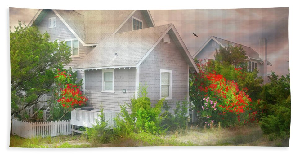 Bald Head Island Bath Sheet featuring the photograph Board Games by Diana Angstadt