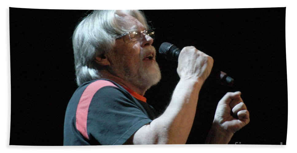 Bob Seger Bath Sheet featuring the photograph Bob Seger 3689 by Gary Gingrich Galleries