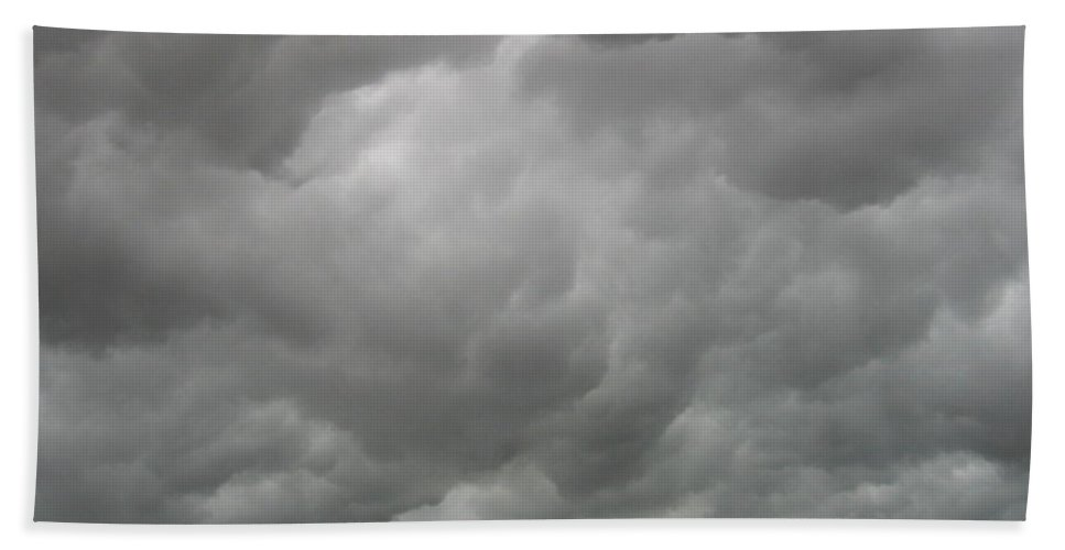 Clouds Hand Towel featuring the photograph Boiling Clouds by Amy Hosp