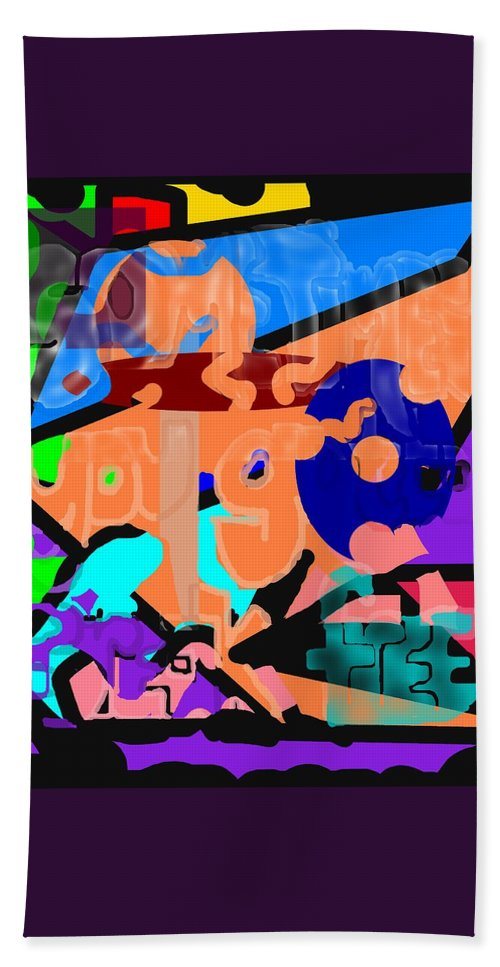Free Bath Sheet featuring the digital art Break Free by Pharris Art