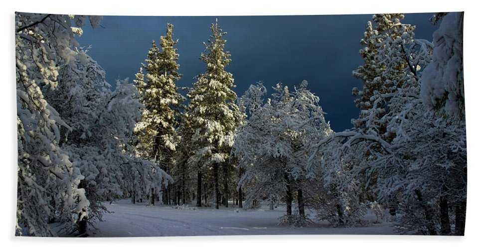 Landscape Hand Towel featuring the photograph Break In The Storm by James Eddy