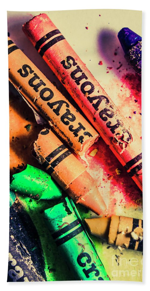 School Bath Towel featuring the photograph Breaking The Creative Spectrum by Jorgo Photography - Wall Art Gallery