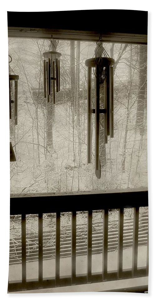 Balcony Bath Sheet featuring the photograph Breathe Deep The Gathering Gloom by RC DeWinter