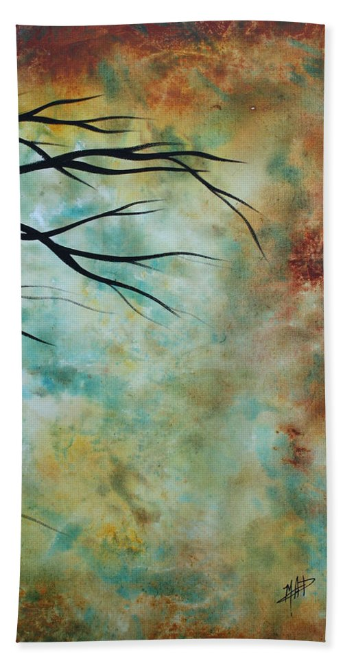 Art Bath Sheet featuring the painting Breathless 3 By Madart by Megan Duncanson
