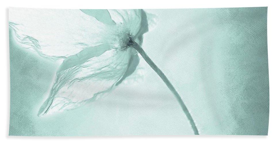 Flower Bath Sheet featuring the painting Breeze by Jacky Gerritsen