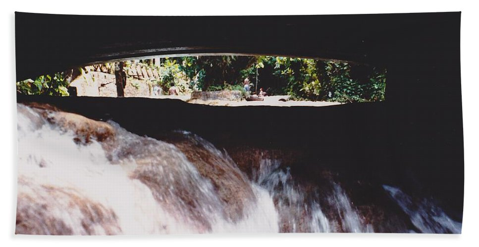 Water Hand Towel featuring the photograph Bridge Over Water by Michelle Powell