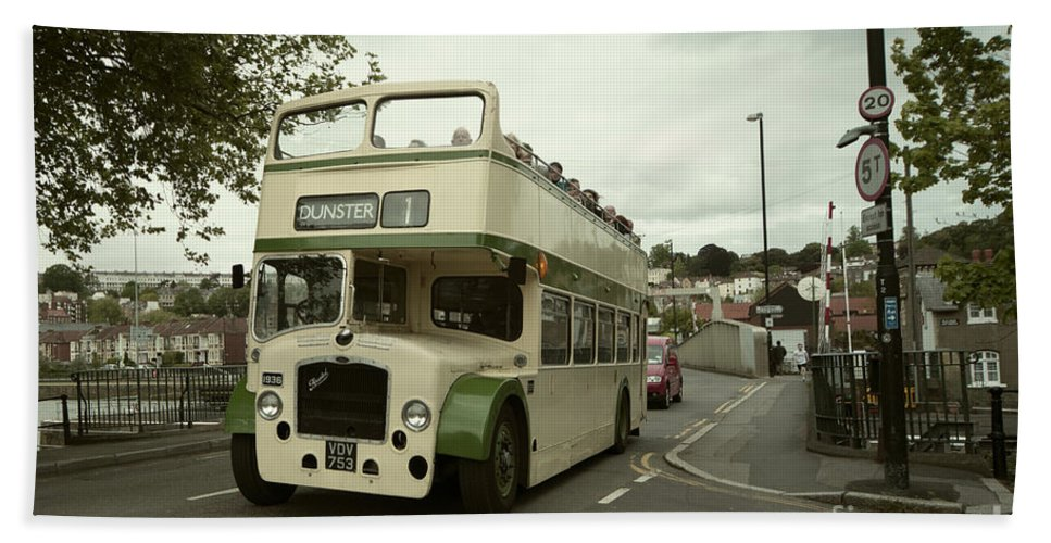 Bristol Bath Towel featuring the photograph Bristol Open Top by Rob Hawkins
