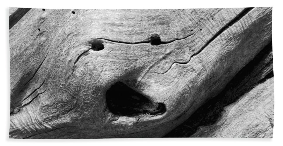 Wood Hand Towel featuring the photograph Broken Smiles by Donna Blackhall
