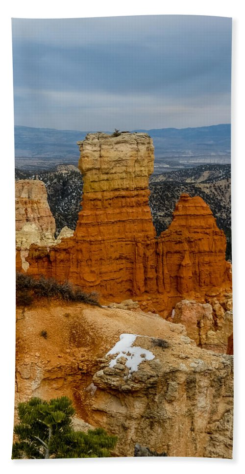 Bryce Canyon National Park Hand Towel featuring the photograph Bryce Canyon Series #5 by Patti Deters