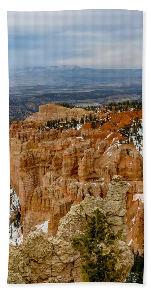 Bryce Canyon National Park Hand Towel featuring the photograph Bryce Canyon Series #7 by Patti Deters