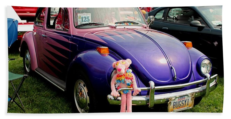 Car Hand Towel featuring the photograph Bugsy I by Michiale Schneider
