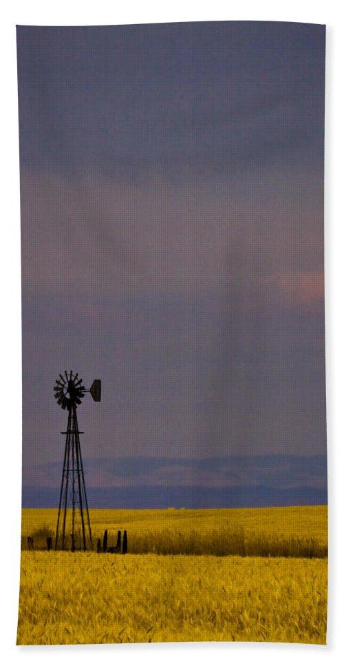 Windmill Bath Sheet featuring the photograph Bumper Crop by Albert Seger