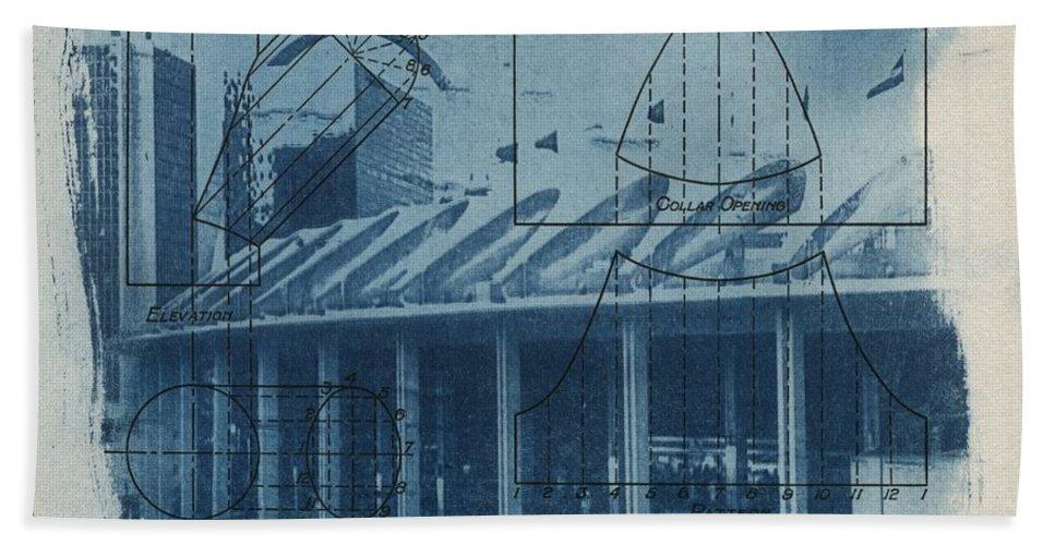 Blue Bath Sheet featuring the photograph Busch Stadium by Jane Linders