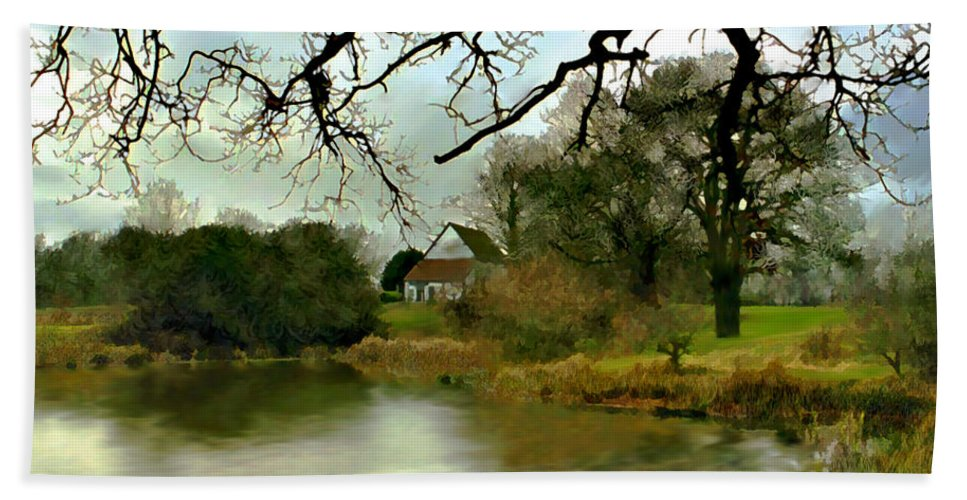 England Bath Sheet featuring the photograph Butlers Retreat Epping Forest Uk by Kurt Van Wagner