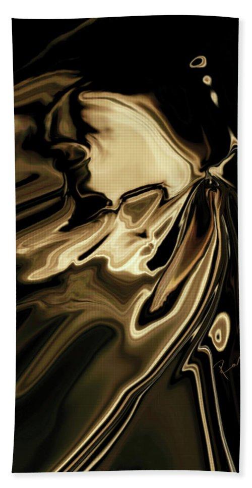 Butterfly Hand Towel featuring the digital art Butterfly 2 by Rabi Khan