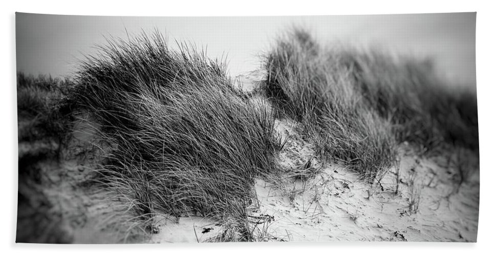 Sand Dunes Hand Towel featuring the photograph Butterfly by Debra Cox